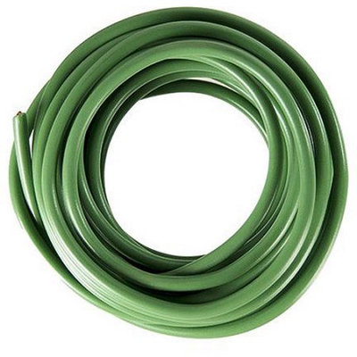 The Best Connection, Inc. JT & T Products 105F 10 AWG Green Primary Wire, 8' Cut