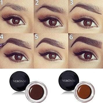 VERONNI 8 Colors No Shading Durable Eyebrow Pomade Gel Waterproof Maquiagem Makeup Accessories Eye Brow Cream Eyebrow Enhancer
