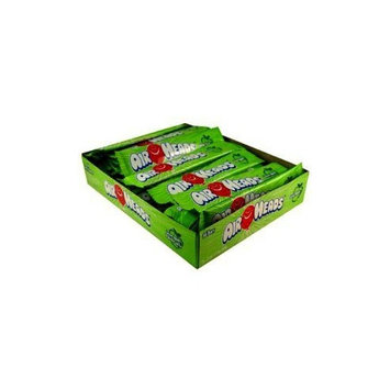 Airheads Candy, Individually Wrapped Bars, Green Apple, Non Melting, Party, 0.55 Ounce (Pack of 36)