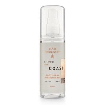 Silver Coast by Good Chemistry Body Mist Unisex Body Spray - 4.25 fl oz.
