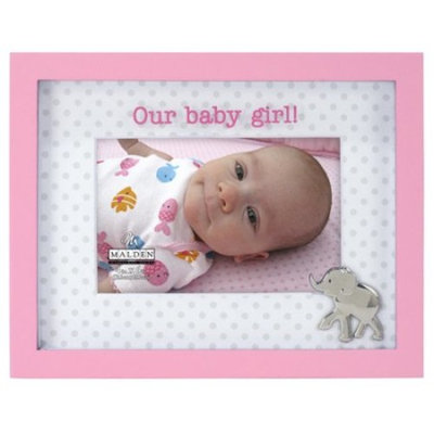 Malden Our Baby Girl Elephant Picture Frame