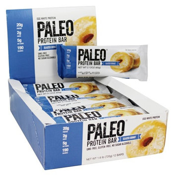 Julian Bakery - Paleo Protein Bar Glazed Donut - 12 Bars