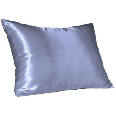 Hidden Zipper Satin Pillowcase, Choice Of Different Color's And Size's(2 Pack) (Standerd, Pink)