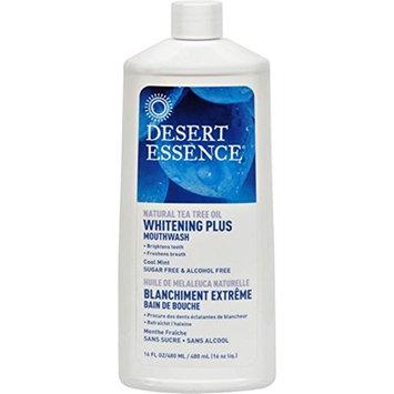 Desert Essence 1246560 Tea Tree Whitening Mint Mouthwash - 16 fl oz