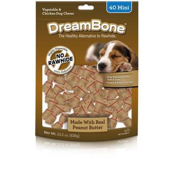 Dreambone, Peanut Butter, Mini, 40-Pack