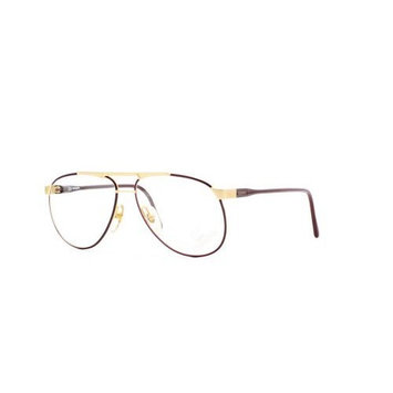 Carrera 5338 43 Gold and Red Authentic Men - Women Vintage Eyeglasses Frame
