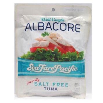 Sea Fare Pacific Albacore Tuna Salt Free 6 oz