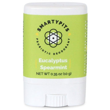 SmartyPits - Natural/Aluminum Free Prebiotic Deodorant (Eucalyptus Spearmint) (Travel-Size (Single))