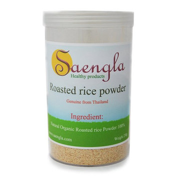 Saengla Roasted rice powder organic naturel. 250g