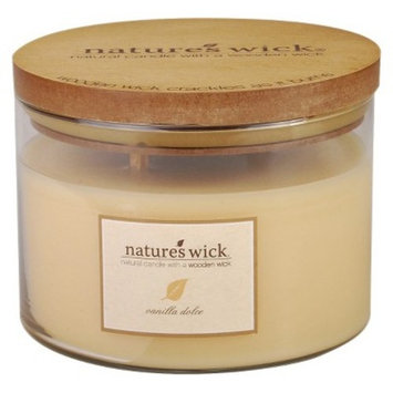 18oz Jar Candle Vanilla Dolce - Nature's Wick