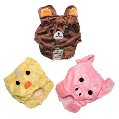 For SMALL Pet Cat Dog Diaper WASHABLE Reusable Female Pants PIG sz M (waist 9