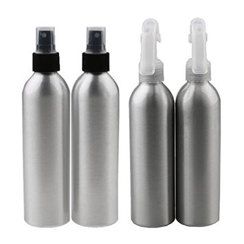 Homyl 4pcs Aluminum Spray Bottle Atomizer –150ml - for Home or Professional Use