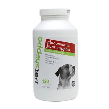 Pet Shoppe Glucosamine Joint Support Advanced Supplement 120.0 ea (Pack of 4)