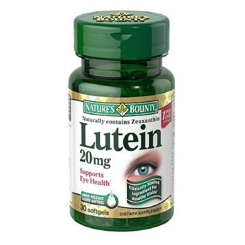Nature's Bounty Lutein 20mg, 180 Softgels Bounty -ge