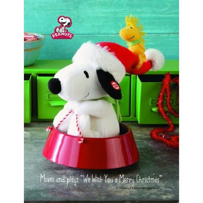 Hallmark Sleddin' Snoopy Plush