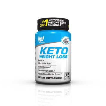 Bpi Health BPI Sports Keto Weight Loss Ultimate Dietary Ketogenic Supplement (75 Capsules)