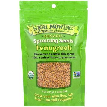 High Mowing Organic Seeds, Fenugreek, 4 oz (113 g)