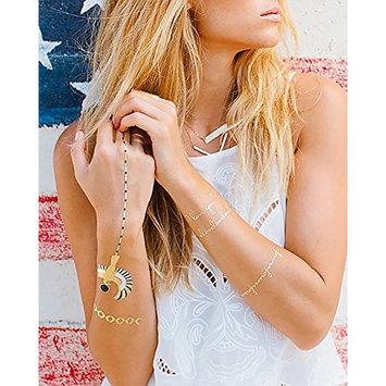 Lulu dK Temporary Jewelry Tattoos, Golden I