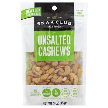 Continental Concession Unsalted Cashews - Pack of 6