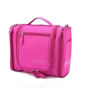 Moolecole-Family Travel Toiletry Bags Wash Bag Waterproof Makeup Bag Large Capacity Grooming Bag of Candy Color