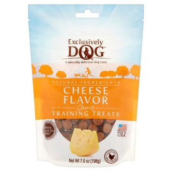 Exclusively Pet Inc Training Treats, Cheese Flavor