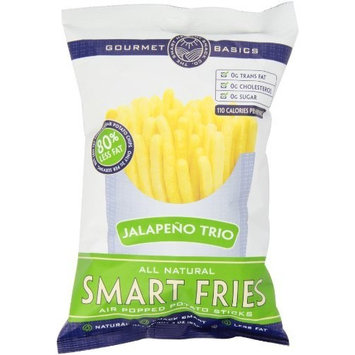 Gourmet Basics Smart Fries Sweet Jalapeno, 3-Ounce Bags (Pack of 12)