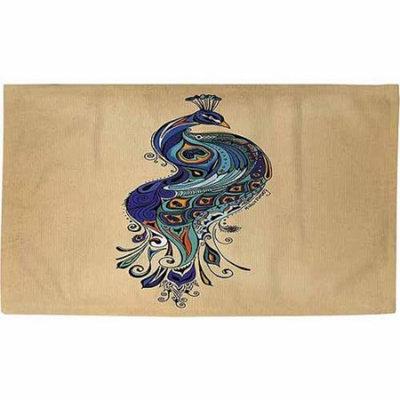 IDG Peacock Rug, 22.5