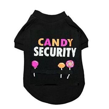 Target Candy Security Dog Costume Pet Tee Halloween T-Shirt