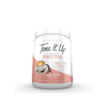 Tone It Up Plant Based Protein Powder Cafe Latte 11.36oz, pack of 1