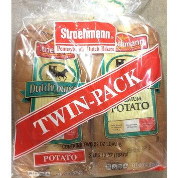 Stroehmann Dutch Country Twin Pack Premium Potato Bread, 44 OZ