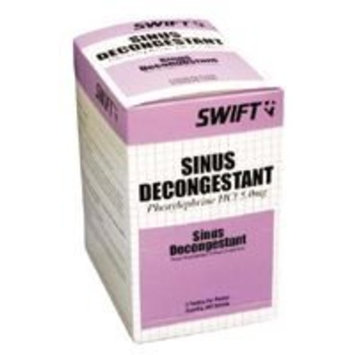 Swift First Aid Sinus Decongestant 250ct