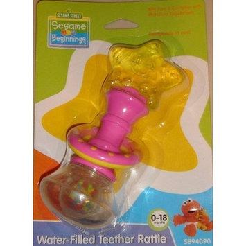 Sesame Street Beginnings Water Filled Teether Rattle - 0-18 Months