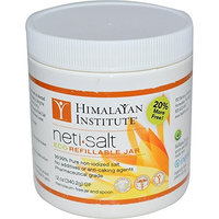 Himalayan Institute, Neti-Salt, Eco Refillable Jar, 12 oz (340.2 g) - 2pc (Pack of 2)