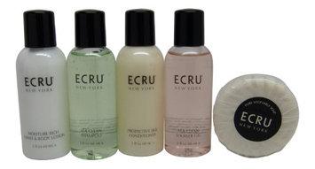 ECRU New York Travel Set Shampoo, Conditioner, Lotion, Shower Gel, Soap