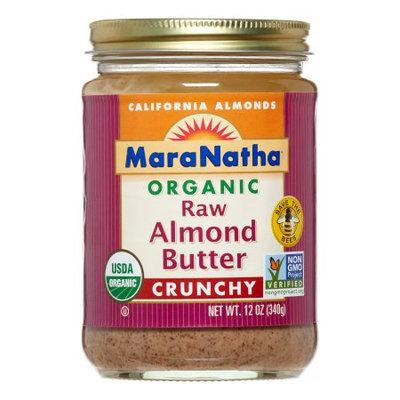 Maranatha Almond Butter Raw, Crunchy, 12 Oz