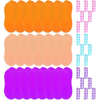 SHANY Toe Separator & Slippers Thong Disposable Pedicure Set, 42 pc