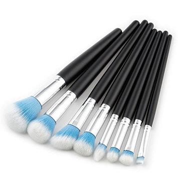 Becoler Cosmetic Makeup Brush Brushes Set Foundation Powder Eyeshadow Cosmetic Brushes 8Pcs