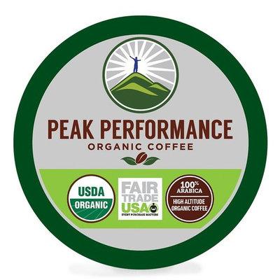 Peak Performance High Altitude Organic Coffee Pods. High Performance Body & Mind Coffee For High Performance Individuals. Fair Trade USDA Organic Beans. Medium Roast Single Serve Keurig 24 KCups