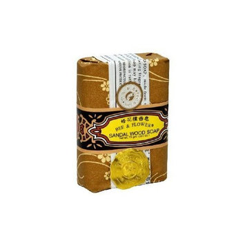 BEE & FLOWER SOAP Bar Soap Sandalwood PACK OF 60
