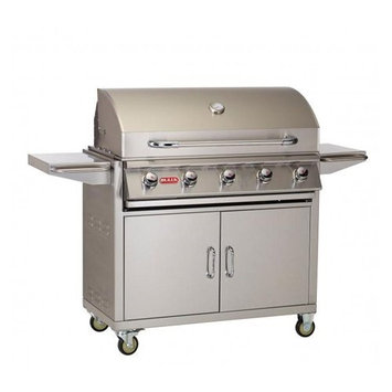 Bull Outdoor Products Bull Outdoor Renegade 6-Burner Gas Grill Cart