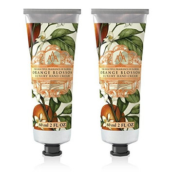 Somerset Toiletry Co. AAA Floral Hand Cream 2-Piece Set - Orange Blossom