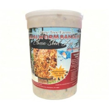 Pine Tree Farms PTF8012 Mealworm Banquet Classic Seed Log - 72 Oz.