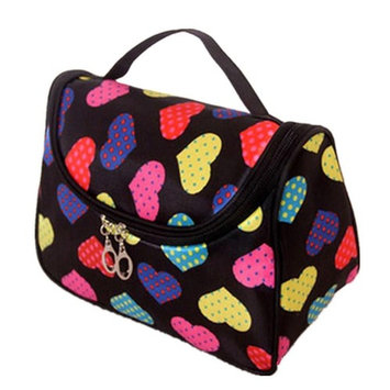 PEATAO Cosmetic Case Bag Appropriate Capacity Portable Women Makeup Cosmetic Bags Storage Bags for Travel