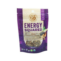 Organic Living Superfoods chia-sq-S Energy Squared Raw Chia Superfood Squares Snack Case - Pack of 12