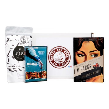 My Coffee And Book Club My Coffee and Book Box- Police Procedural/Mystery Genre Novel, Movie and Whole Bean Coffee