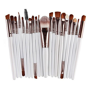 AMarkUp 20 Pcs Pro Makeup Brushes Set Powder Foundation Eyeshadow Eyeliner Lip Cosmetic Conclear Brush