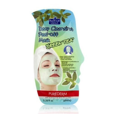 Purederm Botanical Choice Deep Cleansing Peel-off Mask - Green Tea 10ml/0.35oz