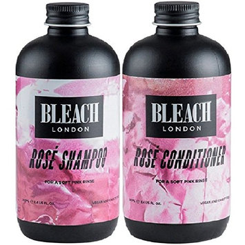 Bleach London Rose Shampoo x 250ml & Bleach London Rose Conditioner x 250ml by Bleach London