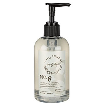 Simply Perfect Sunday No. 8 Warm 16 ounce Body Wash