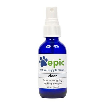 Clear Natural Odorless Electrolyte Pet Supplement That Reduces Allergies and Coughing. Made in USA [Spray]